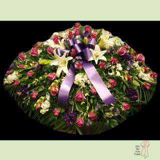 Purple Passion Casket