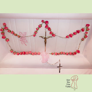 Large Pink Rosary